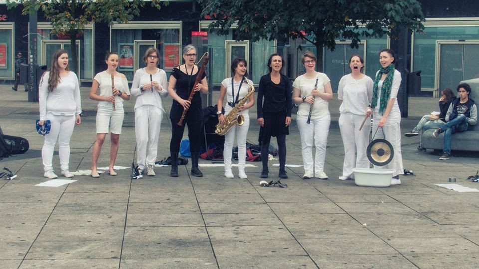 Performed 30th August 2014 in Gorlitzer Park, Berlin, Germany